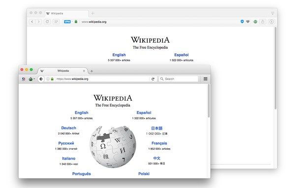Bildschirmfoto für Open in Tor Browser