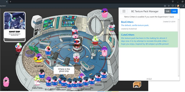 Screenshot for Box Critters Texture Pack Manager