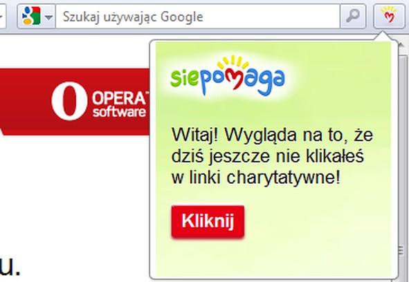 Copie d'écran pour Przypominacz SiePomaga