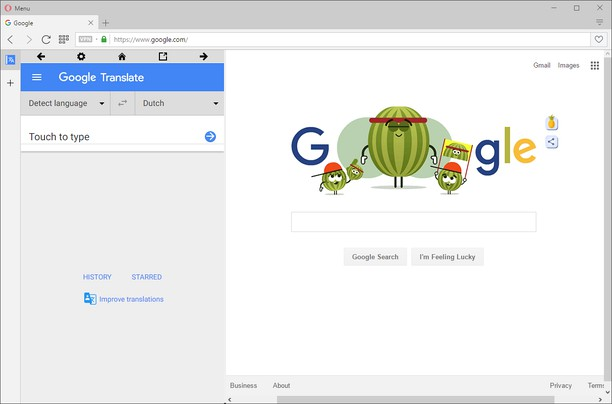 Schermafbeelding voor Sidebar for Google™ Translate
