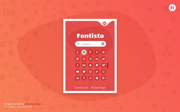 Fontisto extension - Opera add-ons
