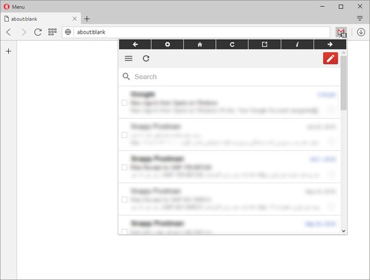 Gmail™ Panel (and Notifier) extension - Opera add-ons