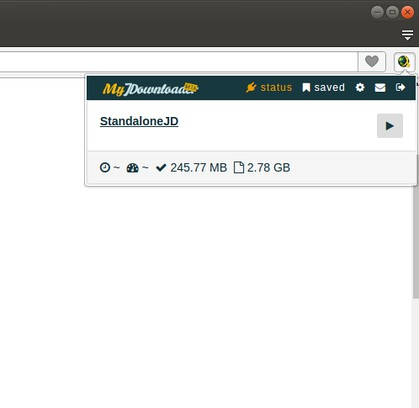 MyJDownloader Browser Extension extension - Opera add-ons