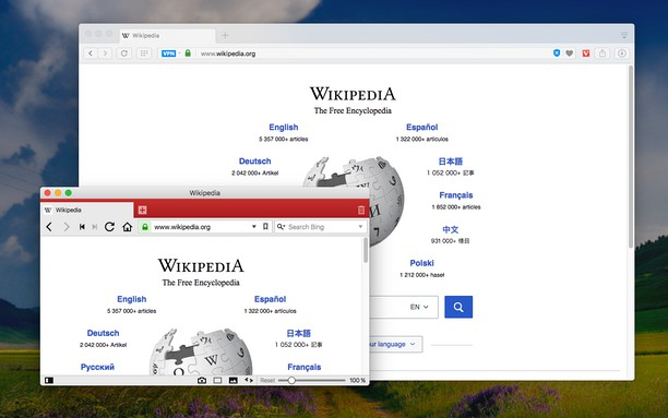 Screenshot for Open in Vivaldi