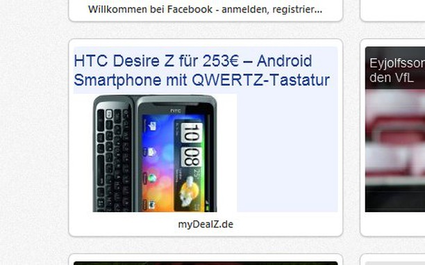 Screenshot di Latest deals - mydealz.de