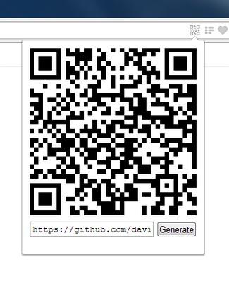 Aperçu de QR code generator