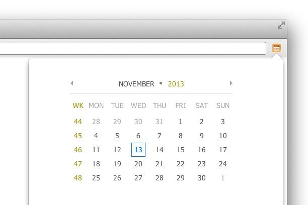 Снимок экрана для Today's  Date
