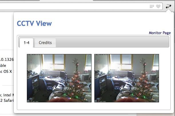 Bildschirmfoto für CCTV View