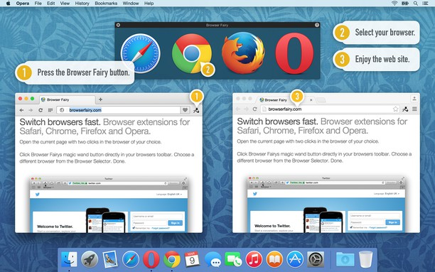 צילום מסך עבור Browser Fairy
