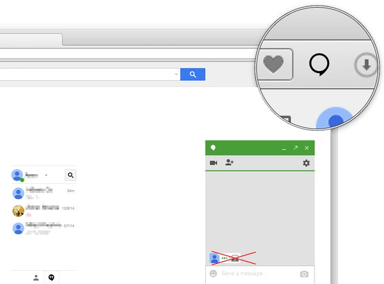 لقطة شاشة Google™ Hangout Seen Blocker