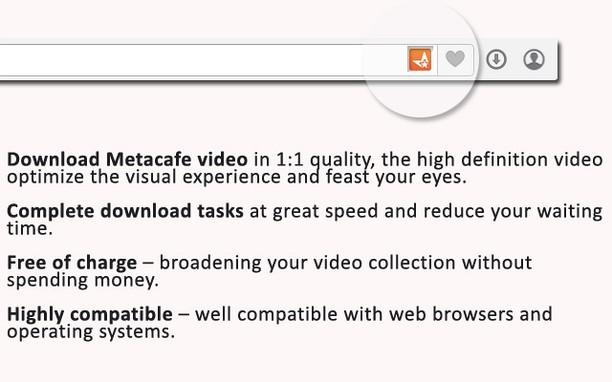 Rozšíření Metacafe Video Downloader - Doplňky Opery