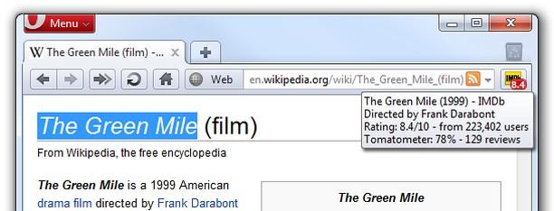 Screenshot for Go to IMDb 2