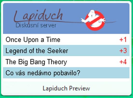 Snímka balíka Lapiduch Preview