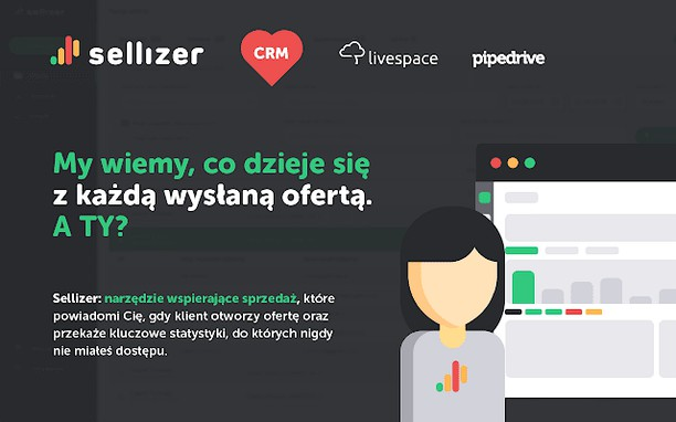Captura de tela de Sellizer dla CRM