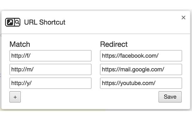 Screenshot for URL Shortcut