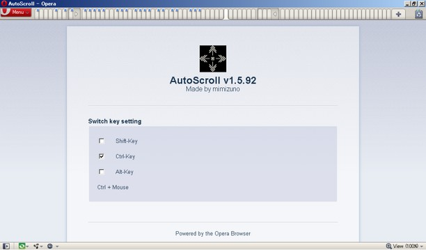 Screenshot for AutoScroll