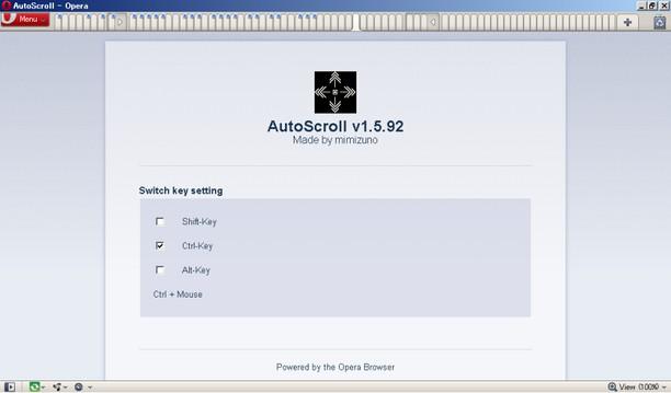 Screenshot untuk AutoScroll