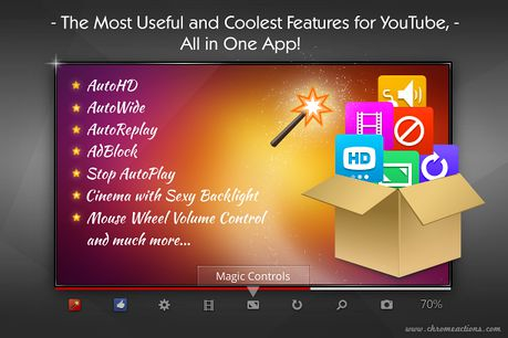 Magic Actions for YouTube™ extension - Opera add-ons
