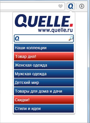 Screenshot for Кнопка для Quelle.ru