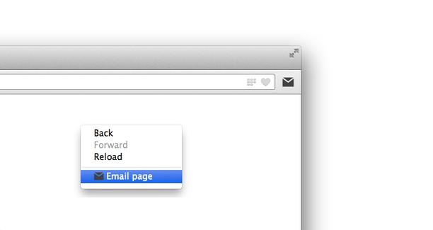 Captura de pantalla para Mailto button
