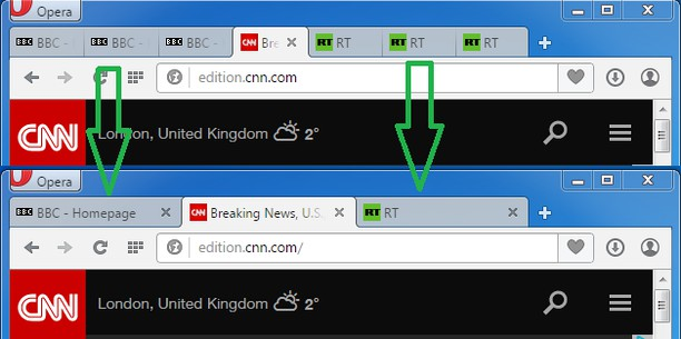 No more duplicated tabs! paketi için ekran görüntüsü