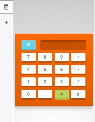 side calculator extension opera add ons