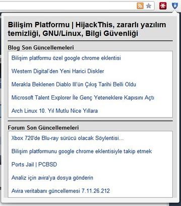 Schermafbeelding voor Bilişim Platformu