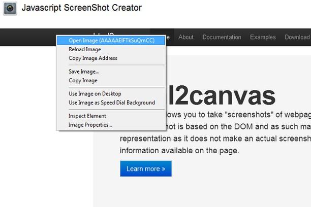 ScreenShot extension - Opera add-ons