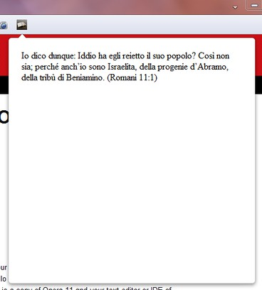 Screenshot for Citazione biblica