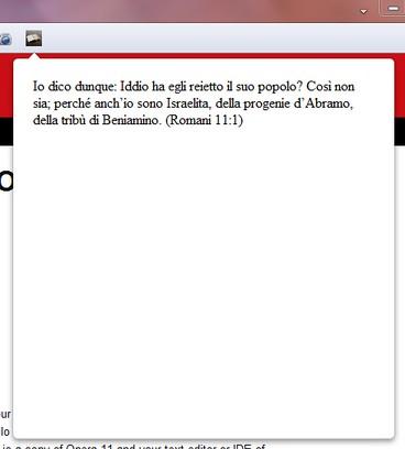 Captura de pantalla para Citazione biblica