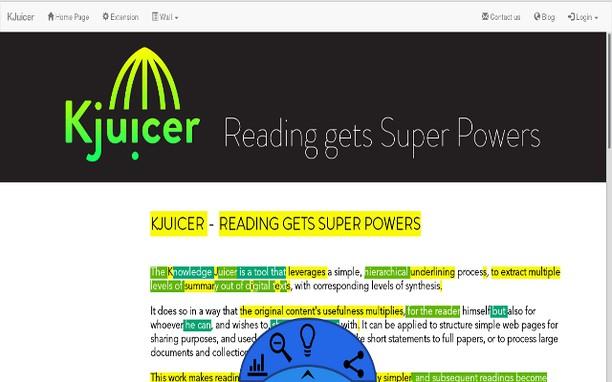 Copie d'écran pour KJuicer