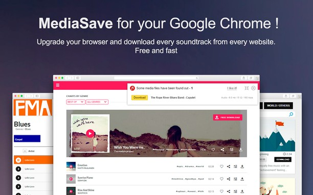 MediaSave  Download music free extension - Opera add-ons
