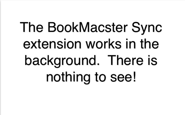 Screenshot for BookMacster Sync