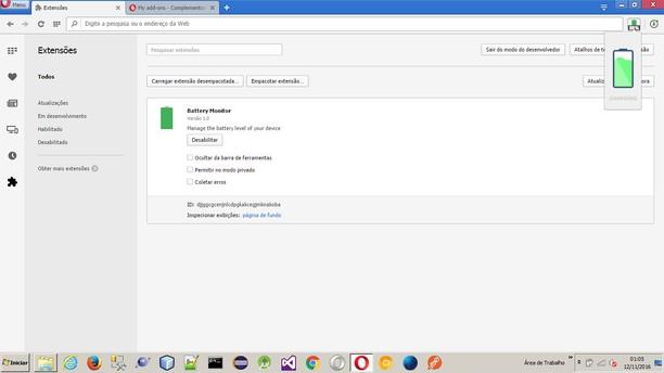 Copie d'écran pour Battery Monitor