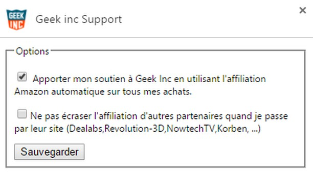 Screenshot for Geek inc Support