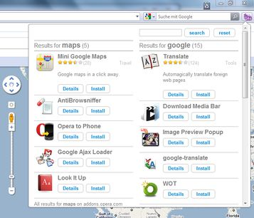 opera how to add extensions to toolbar