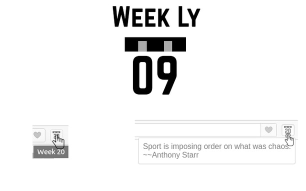 Screenshot for Week Ly - Week number