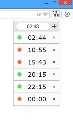 Simple Clock extension - Opera add-ons