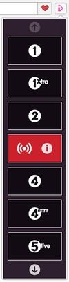 Снимок экрана для BBC radio online player