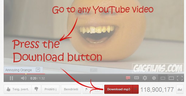 Bildschirmfoto für Youtube To MP3