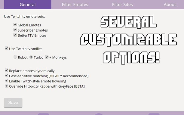 Global Twitch Emotes extension - Opera add-ons