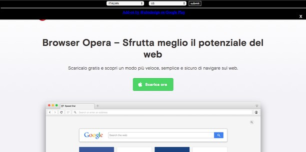 Translate Web Page extension - Opera add-ons