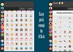 Thumbnail untuk screenshot Emoji keyboard from EmojiSelector