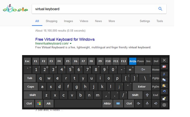 Hot Virtual Keyboard Extension extension - Opera add-ons