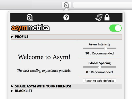 Screenshot for Asym