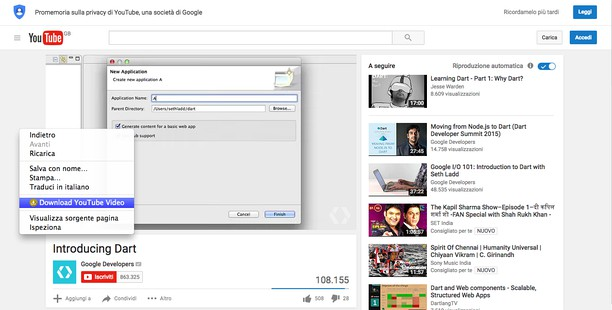 download youtube videos google extension