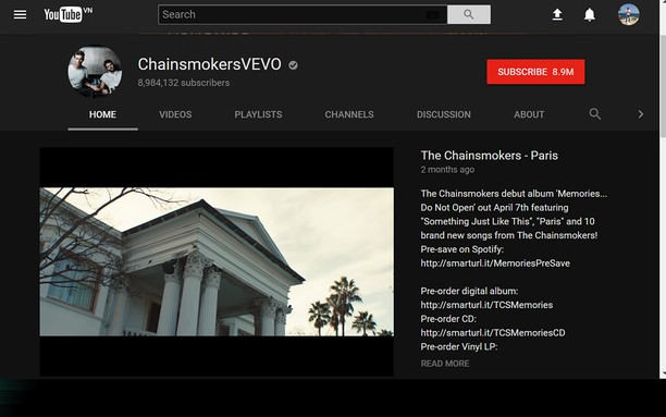 Youtube modern dark mode extension - Opera add-ons