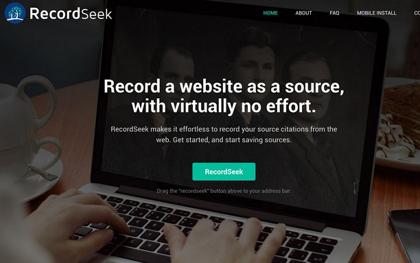 Screenshot for RecordSeek