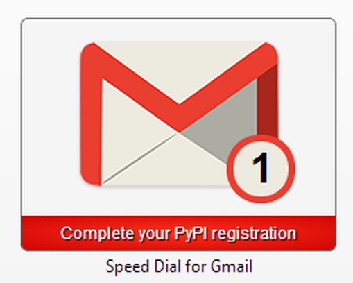 Skjermbilde for Speed Dial for Gmail