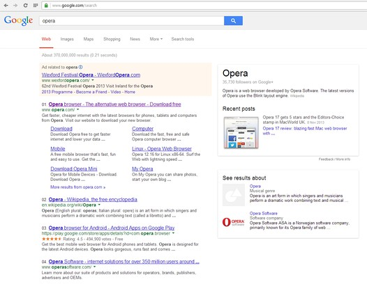 Snimak ekrana za Google #SERPs Indexer